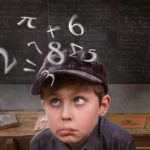 School Boy Mathmatics Brain – Rights Managed